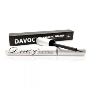 Davocy - Magnetic Eyeliner for Magnetic Eyelashes - Latex-Free - Waterproof Magnetic Eyeliner