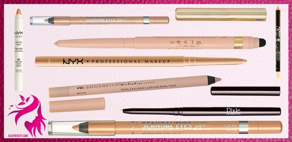 Best Nude Waterline Eyeliners
