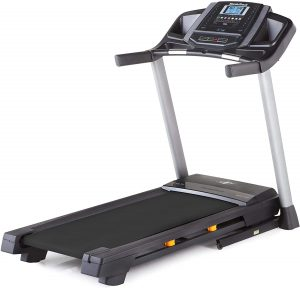 NordicTrack T Series Foldable Compact Treadmill for Home Use