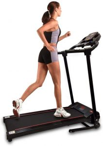 SereneLife SLFTRD18 - Smart Space Saver Folding Compact Treadmill