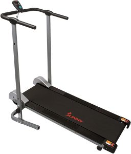 Sunny Health & Fitness SF-T1407M Compact Folding Treadmill for Home Office User