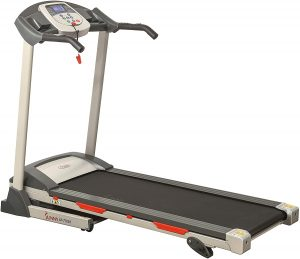 Sunny Health & Fitness - Portable and Space Saving Compact Treadmill