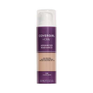COVERGIRL Advanced Radiance Age Defying Liquid Foundation for Sensitive & Acne Skin