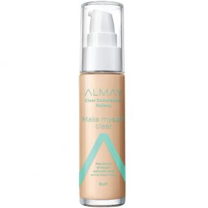 Almay Clear Complexion Makeup - Hypoallergenic, Cruelty Free Foundation for Sensitive Skin
