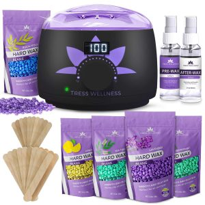 Tress Wellness Store Waxing Kit Hair Removal Wax Warmer -